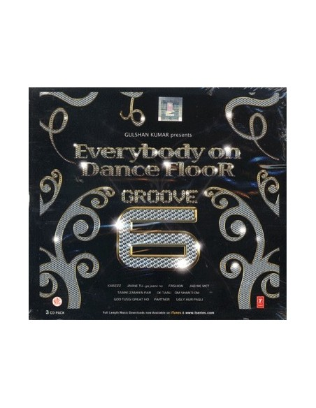 Everybody On Dance Floor Groove 6 CD
