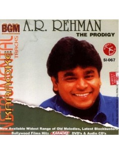 Karaoke - A.R. Rahman The Prodigy CD
