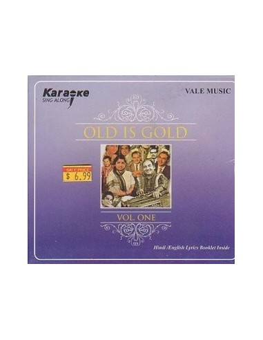 Karaoke - Old Is Gold Vol. 1 CD