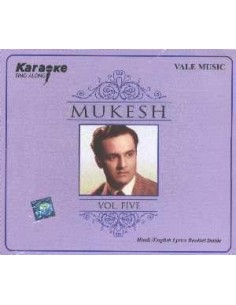 Karaoke - Mukesh Vol. 5 CD