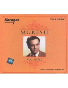 Karaoke - Mukesh Vol. 3 CD