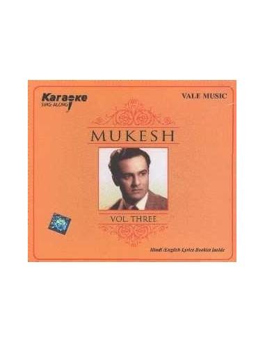 Karaoke - Mukesh Vol. 3 CD