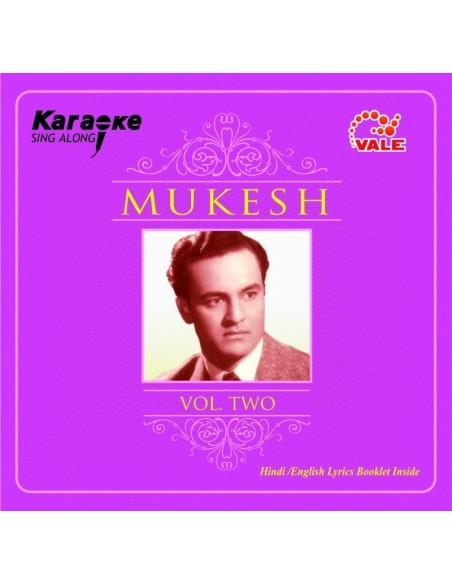 Karaoke - Mukesh Vol. 2 CD