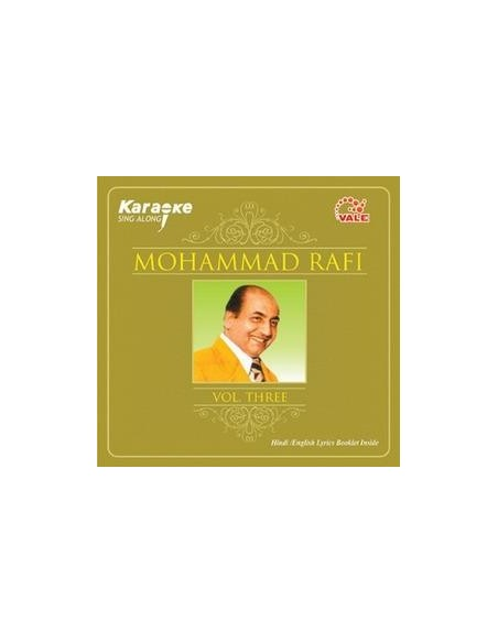 Karaoke - Mohammad Rafi Vol. 3 CD