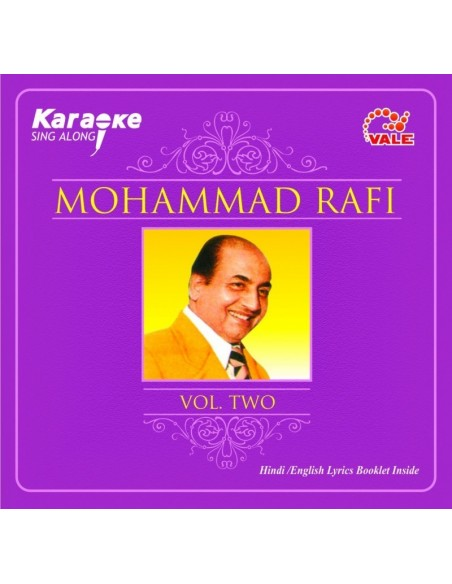 Karaoke - Mohammad Rafi Vol. 2 CD