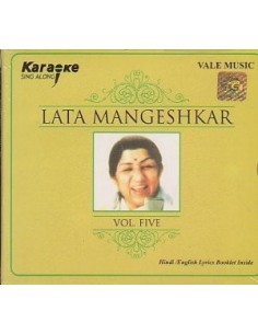 Karaoke - Lata Mangeshkar Vol. 5 CD