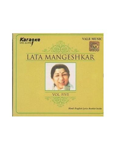 Karaoke - Lata Mangeshkar Vol. 5 CD