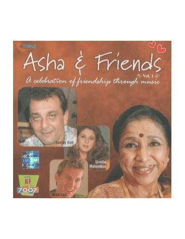 Asha & Friends Vol. 1 CD