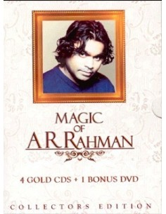 Magic of A.R. Rahman (4 CDs +1 DVD)