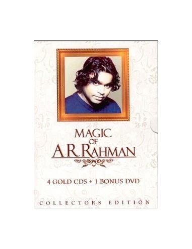 Magic of A.R. Rahman (4 CDs +1 DVD)