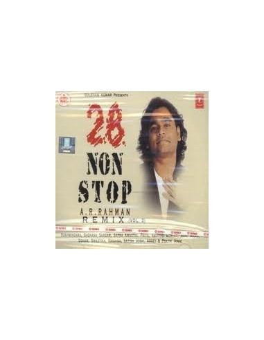 28 Super Non-Stop A.R.Rahman Remix Vol. 2 CD