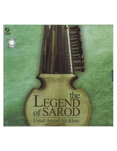 The Legend of Sarod (Ustad Amjad Ali Khan) CD