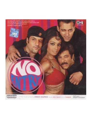 No Entry CD