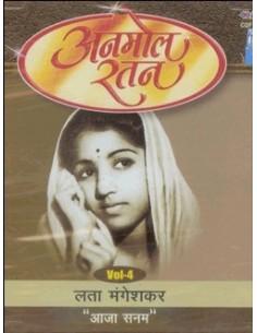 "Anmol Ratan - Lata Mangeshkar ""Aaja Sanam"" Vol. 4 CD"