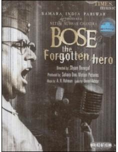 Netaji Subhas Chandra Bose - The Forgotten Hero CD