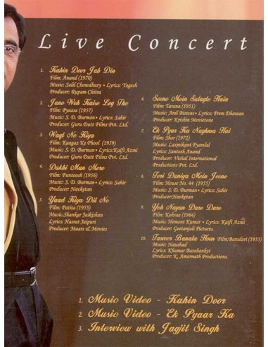 Close To My Heart (Jagjit Singh) - Live Concert DVD