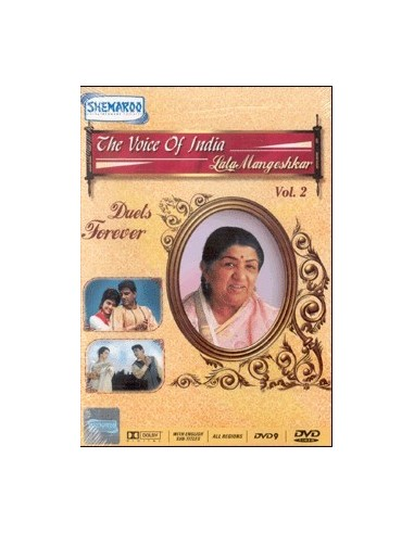 Voice of India - Lata Mangeshkar (Vol.2) DVD