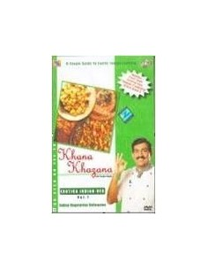 Khana Khazana Exotica Indian Veg Vol. 1 DVD