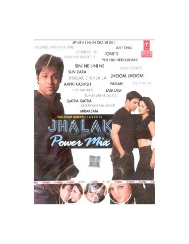 Jhalka Power Mix DVD