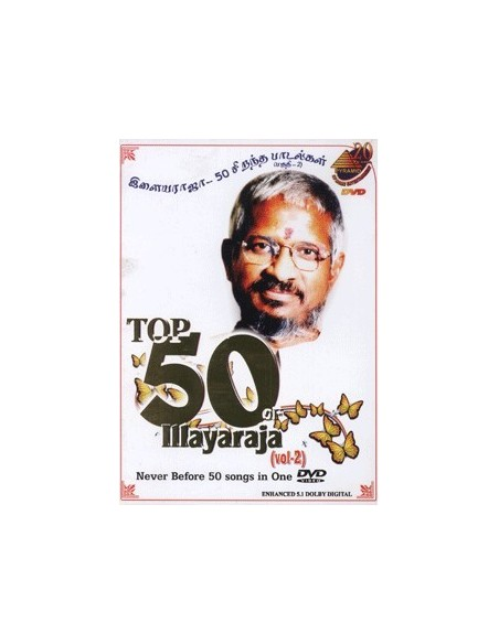 Top 50 of Ilaiyaraja Vol. 2 DVD