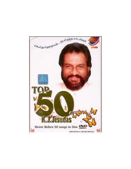 Top 50 of K.J. Jesudas DVD