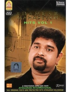 Shankar Mahadevan Hits Vol. 1 DVD