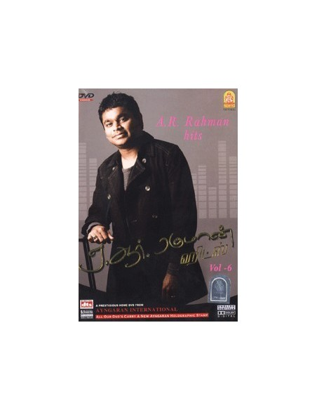 A.R. Rahman Hits Vol. 6 DVD