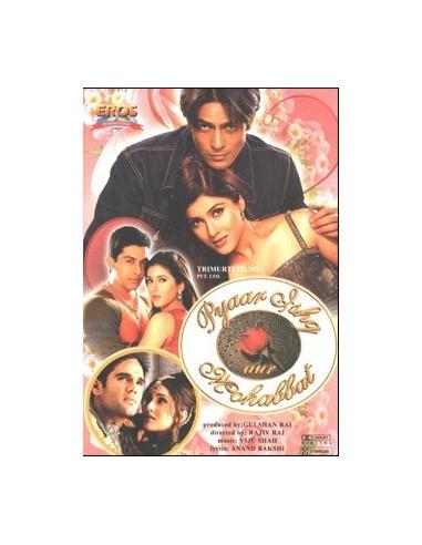 Pyaar Ishq Aur Mohabbat DVD