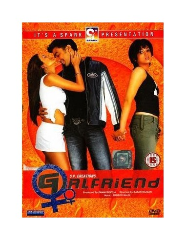 Girlfriend DVD