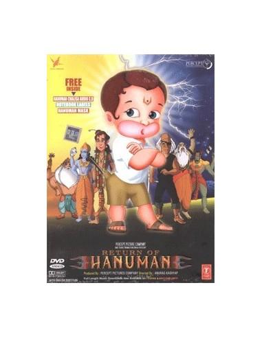 Return of Hanuman DVD