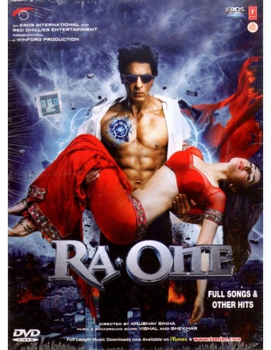 Ra.One Full Songs & Other Hits DVD