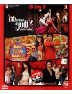Rab Ne Bana Di Jodi / Band Baaja Baaraat / Ladies vs Ricky Bahl DVD