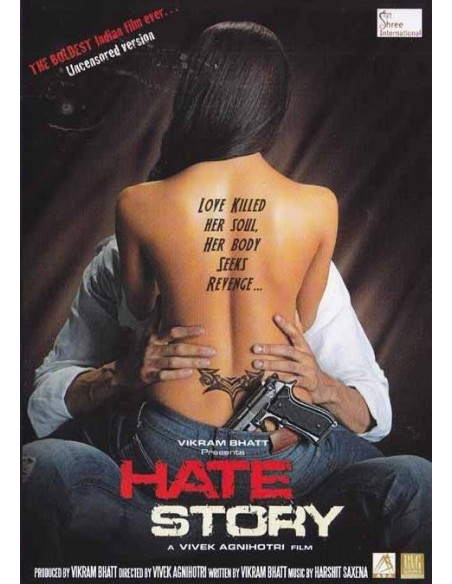 Hate Story DVD