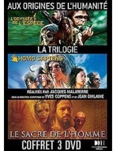 Aux origines de l'humanite - Coffret 3 DVD