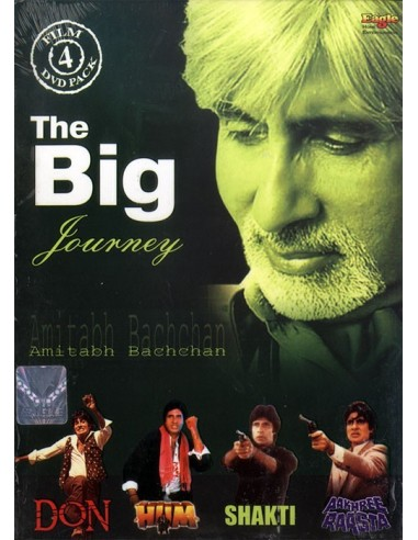 The Big B Journey - 4 DVD Set