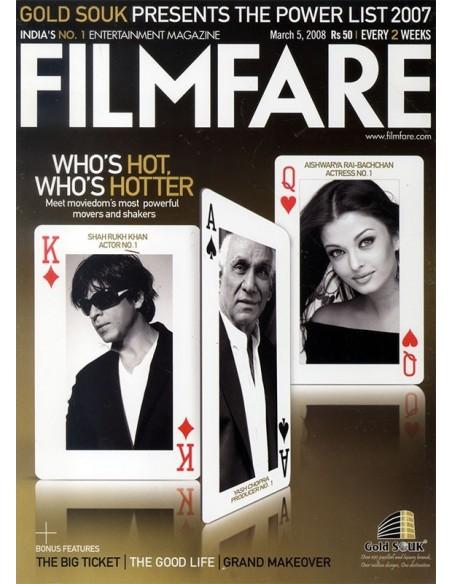Filmfare, March 5, 2008