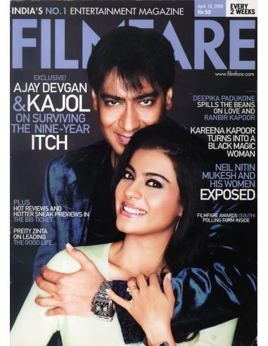 Filmfare, Avril 16, 2008