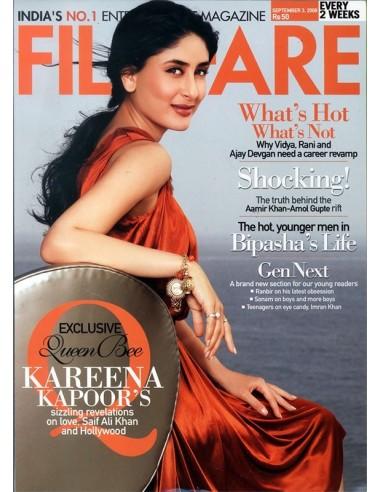Filmfare, Septembre 3, 2008