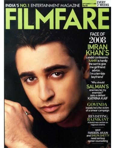 Filmfare, Septembre 17, 2008
