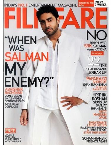 Filmfare, Octobre 15, 2008
