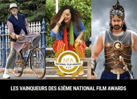 Les vainqueurs des 63ème National Film Awards